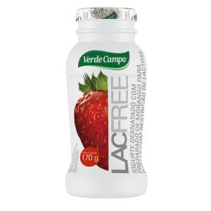 Iogurte líquido Morango LACFREE Verde Campo 170g