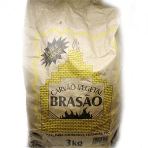 Carvão vegetal Brasão 3kg