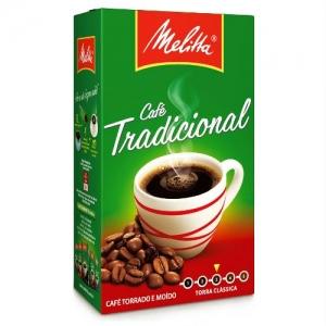 Café Tradicional a vácuo Melitta 250g