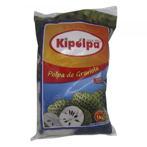 Polpa de graviola Kipolpa 1kg