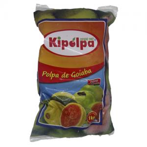 Polpa de goiaba Kipolpa 1kg