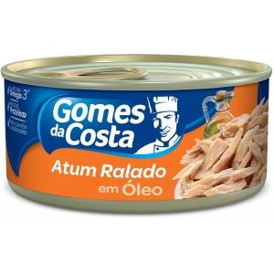 Atum ralado com óleo Gomes da Costa 170g