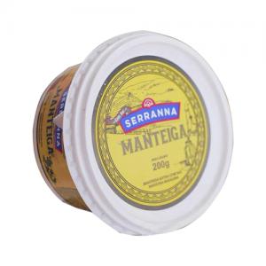 Manteiga com sal serranna 200g
