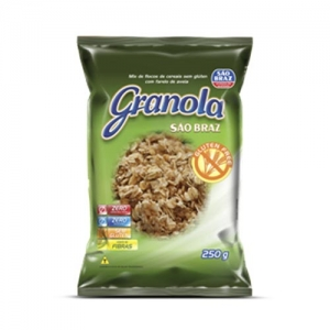 Granola Sem gluten São Braz 250g