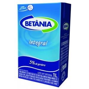 Leite UHT integral Betânia 1l