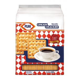 Cream Cracker retrô Pilar 400g