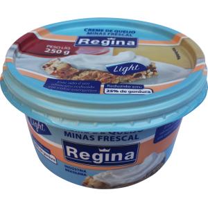Creme de queijo minas frescal light Regina 250g