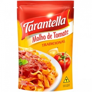 Molho de tomate trad Sachê Tarantella 340g