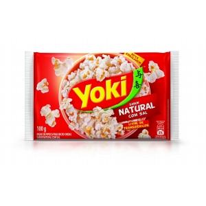 Pipoca de microondas PopCorn natural Yoki 100g