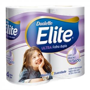 Papel Higiênico Folha Dupla Ultra Elite c/4 unidades