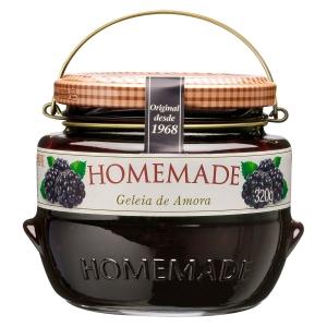 Geleia de Amora Homemade 320g