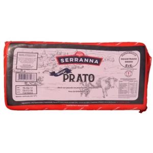 Queijo Prato tipo Lanche 500g Serrana