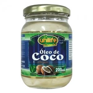 OLEO DE COCO EXTRA VIRGEM 500ML UNILIFE