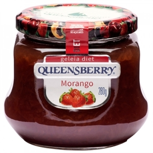 GELEIA DIET MORANGO 280G QUEENSBERRY
