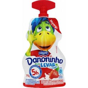 DANONINHO PARA LEVAR MORANGO 70G DANONE