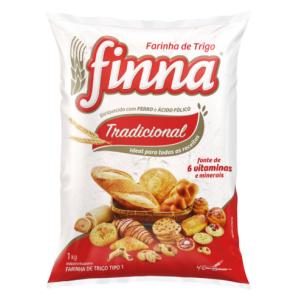 Farinha de Trigo sem fermento Finna 1 kg