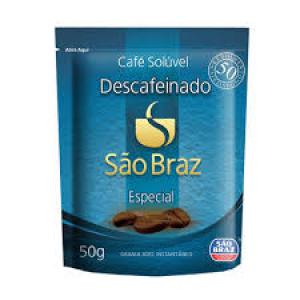 Café solúvel Descafeinado São Braz 50g