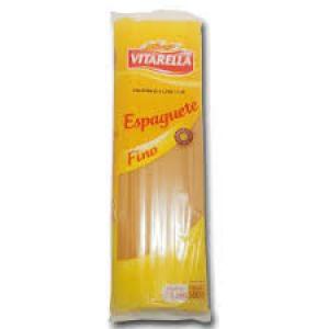 Macarrão Espaguete Fino 500g Vitarella