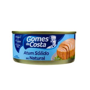 ATUM SÓLIDO NATURAL 170G GOMES DA COSTA
