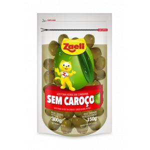 AZEITONA SEM CAROÇO SACHE 150G ZAELI