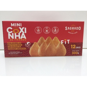 MINI COXINHA FIT CONG 300G SAGRADO FIT