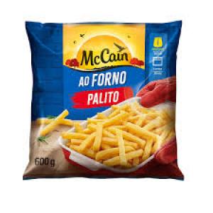 BATATA AO FORNO PALITO CONG 600G MCCAIN