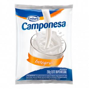 Leite em Pó Integral Camponesa 200g