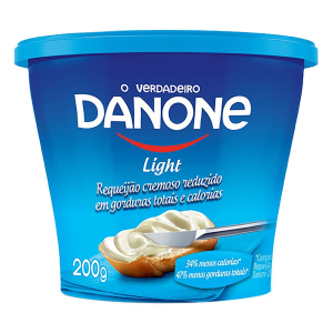 REQUEIJAO CREMOSO LIGHT 200G DANONE