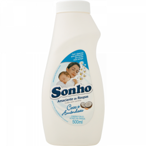 AMACIANTE COCO E AMENDOAS 500ML SONHO