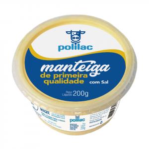 MANTEIGA C SAL 200G POLILAC
