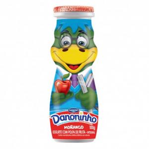IOG LIQ DANONINHO MORANGO 100G DANONE