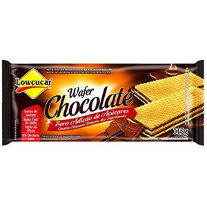 WAFER ZERO CHOCOLATE 115G LOWCUCAR