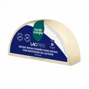 Queijo Minas padrão Zero Lactose Lacfree Verde Campo 500g