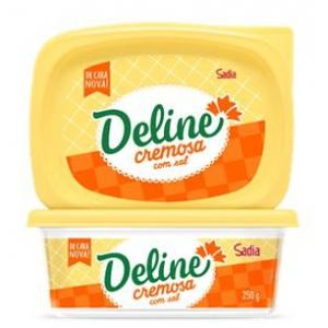 Margarina com sal Deline 250g