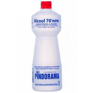 ÁLCOOL ETILICO 70% 1L PINDORAMA