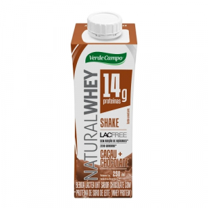 SHAKE WHEY CHOC LACFREE 250ML VERDE CAMPO