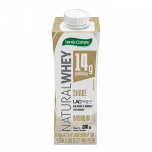 SHAKE WHEY BAUNILHA LACFREE 250ML VERDE CAMPO