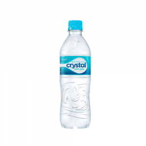 AGUA S GAS 500ML CRYSTAL