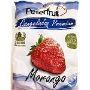 MORANGO CONGELADO 1KG PETERFRUT