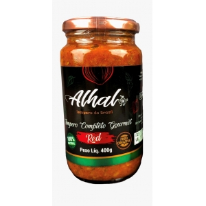 TEMPERO COMPLETO GOURMET RED 400ML ALHAL
